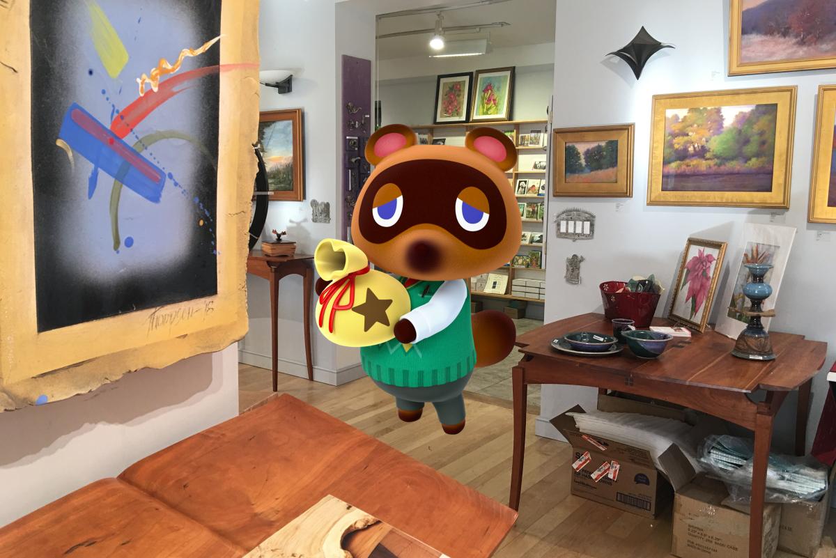 Animal Crossing Shopping