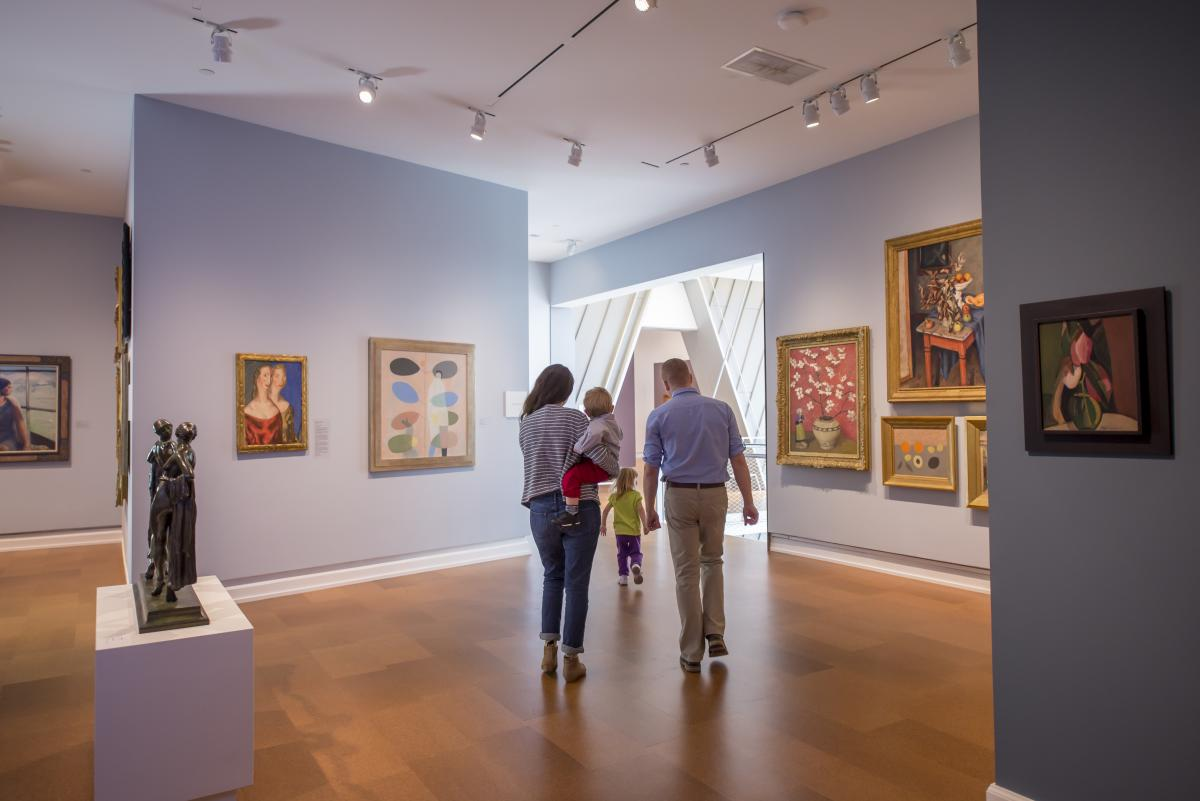 Westmoreland Museum of American Art Interior
