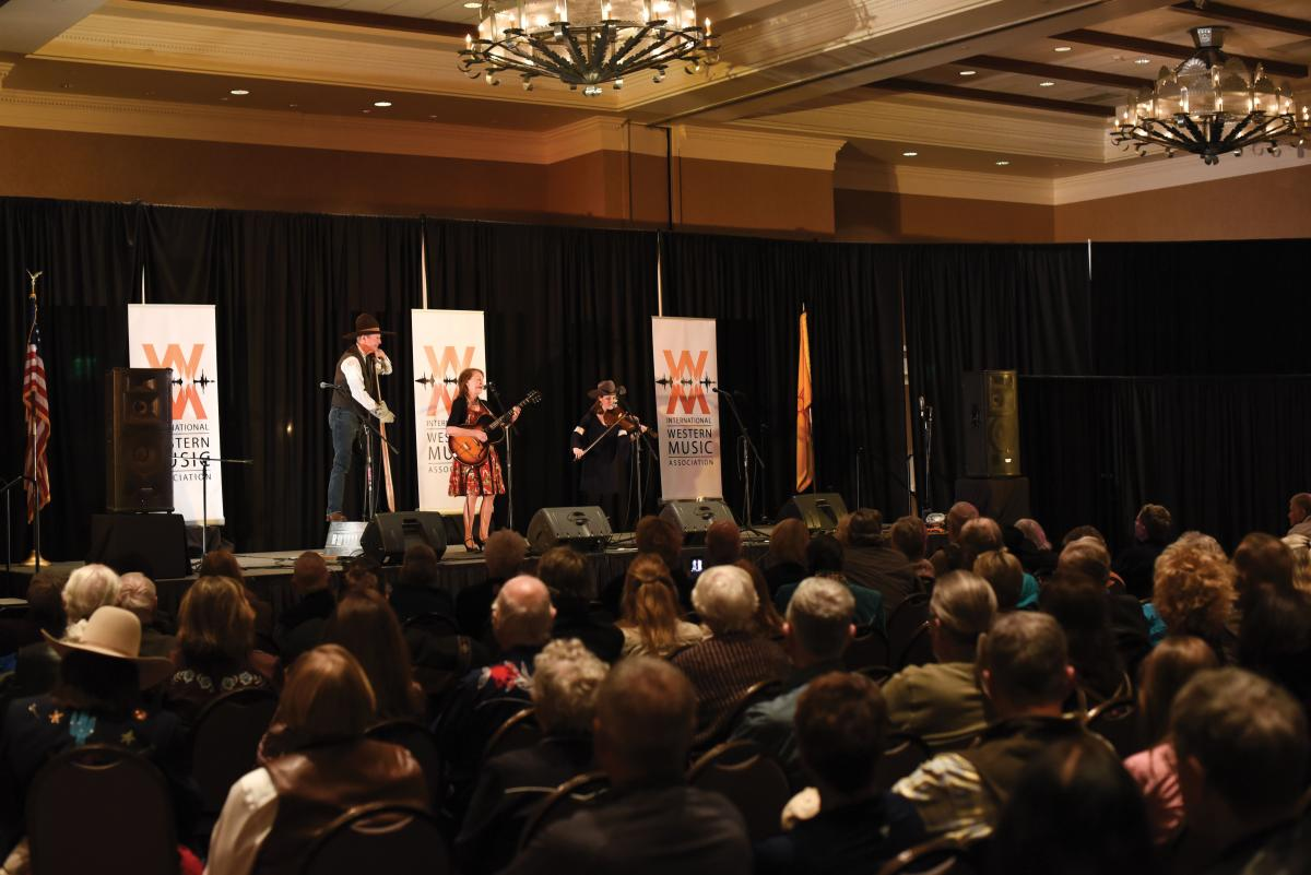 The International Western Music Association's 2018 gathering in Albuquerque featured plenty of music, from performers of all ages.