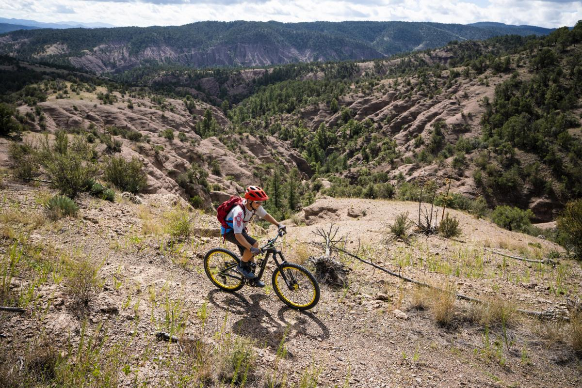 Mountain Biking on the Continental Divide Trail, New Mexico Magazine