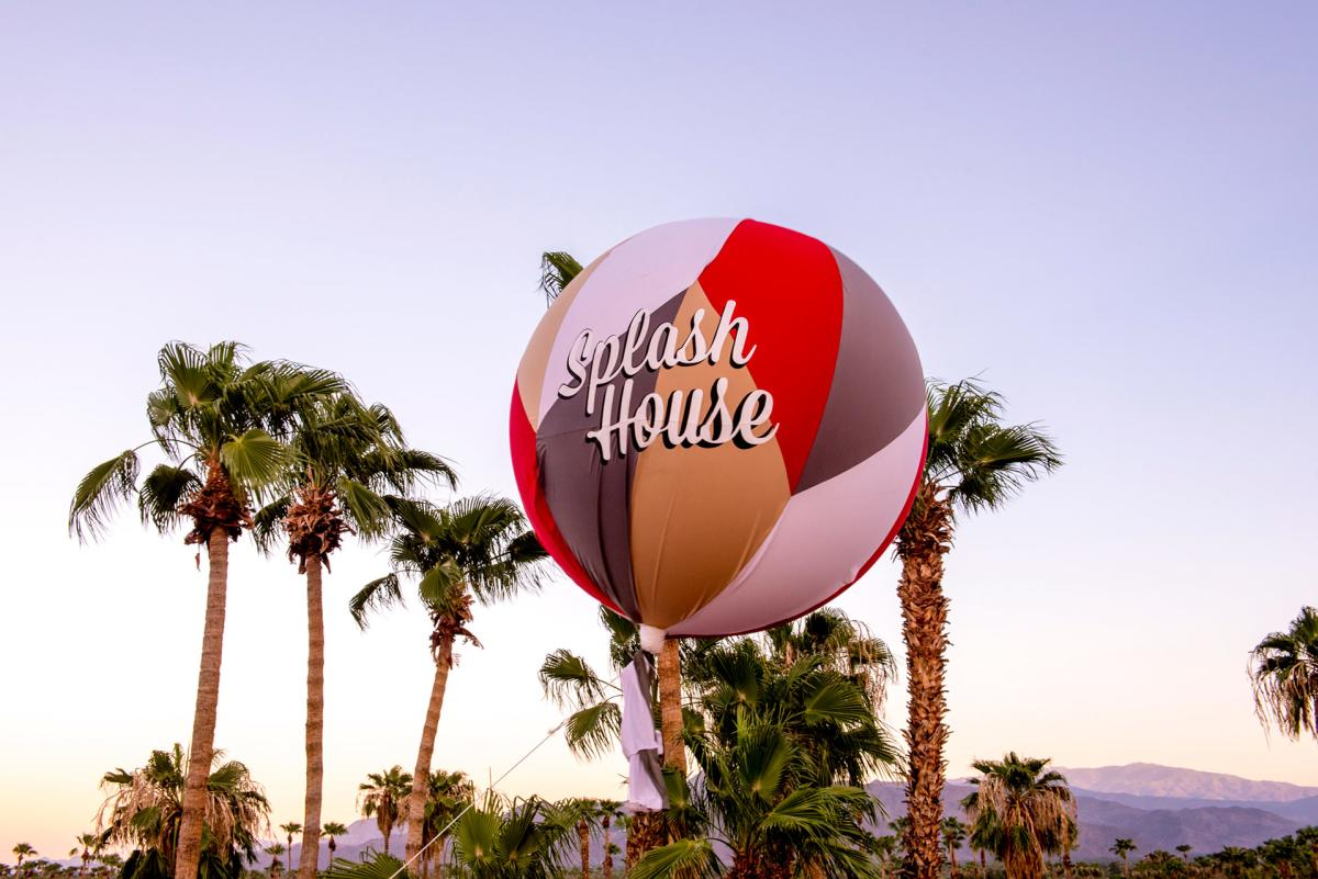 Splash House Balloon