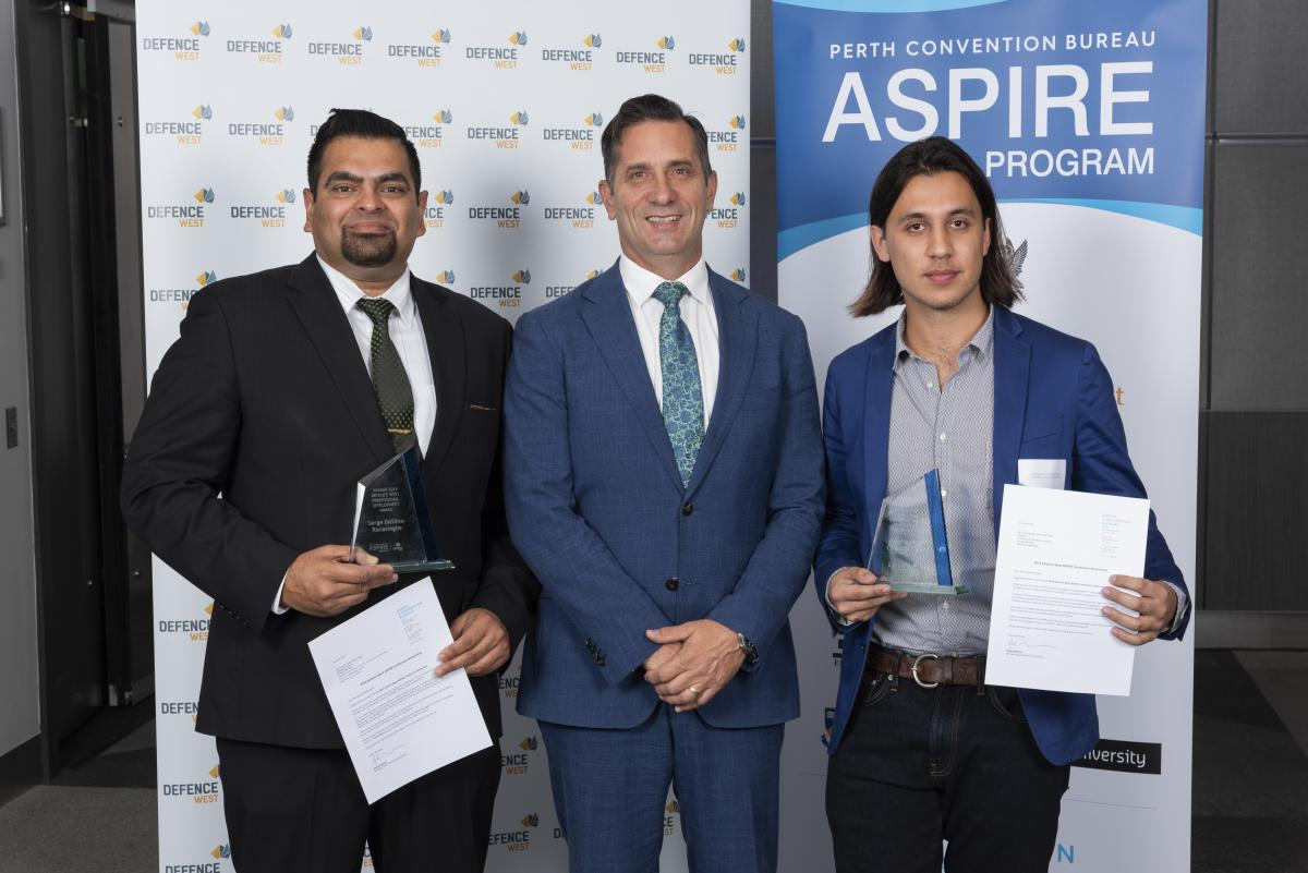 Defence West Aspire 2019 Winner Serge DeSilva-Ranasinghe