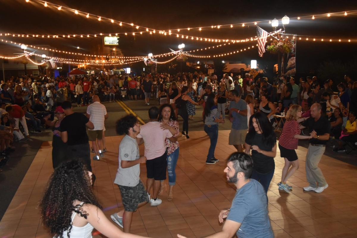 Salsa Night Food Trucks Event