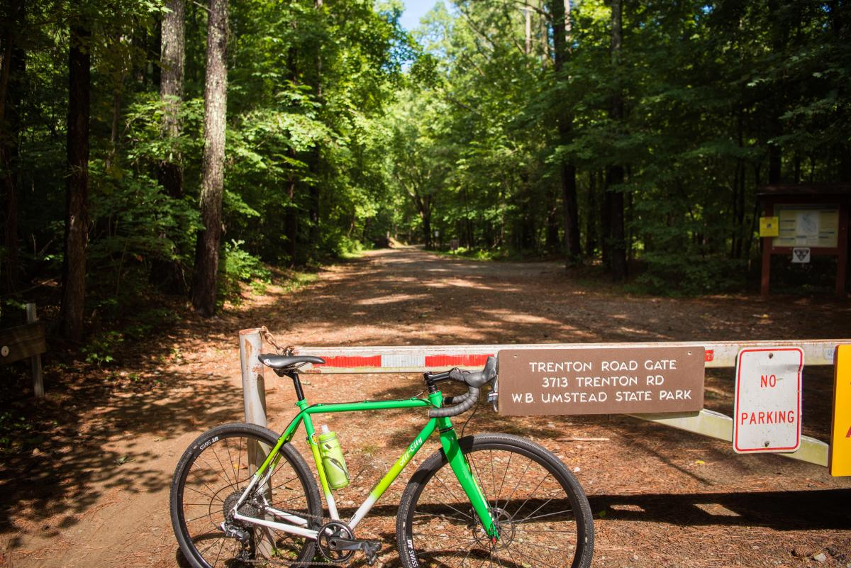 Umstead State Park Entrance Bike