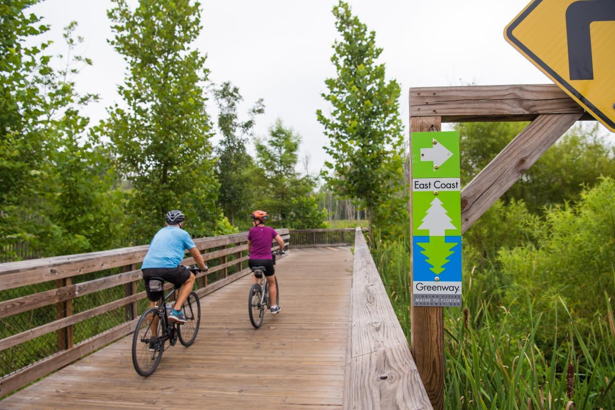East Coast Greenway Bike