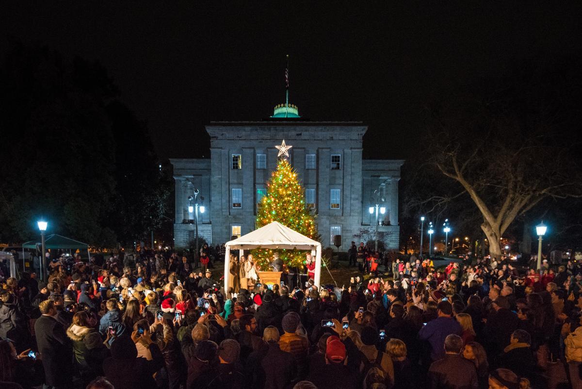Capitol Tree Lighting 2017
