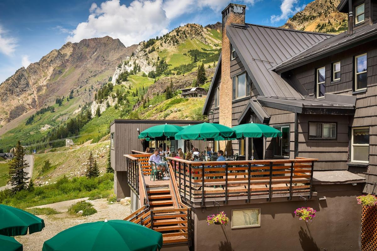 You can't beat the views at this Sunday Brunch at Alta Lodge