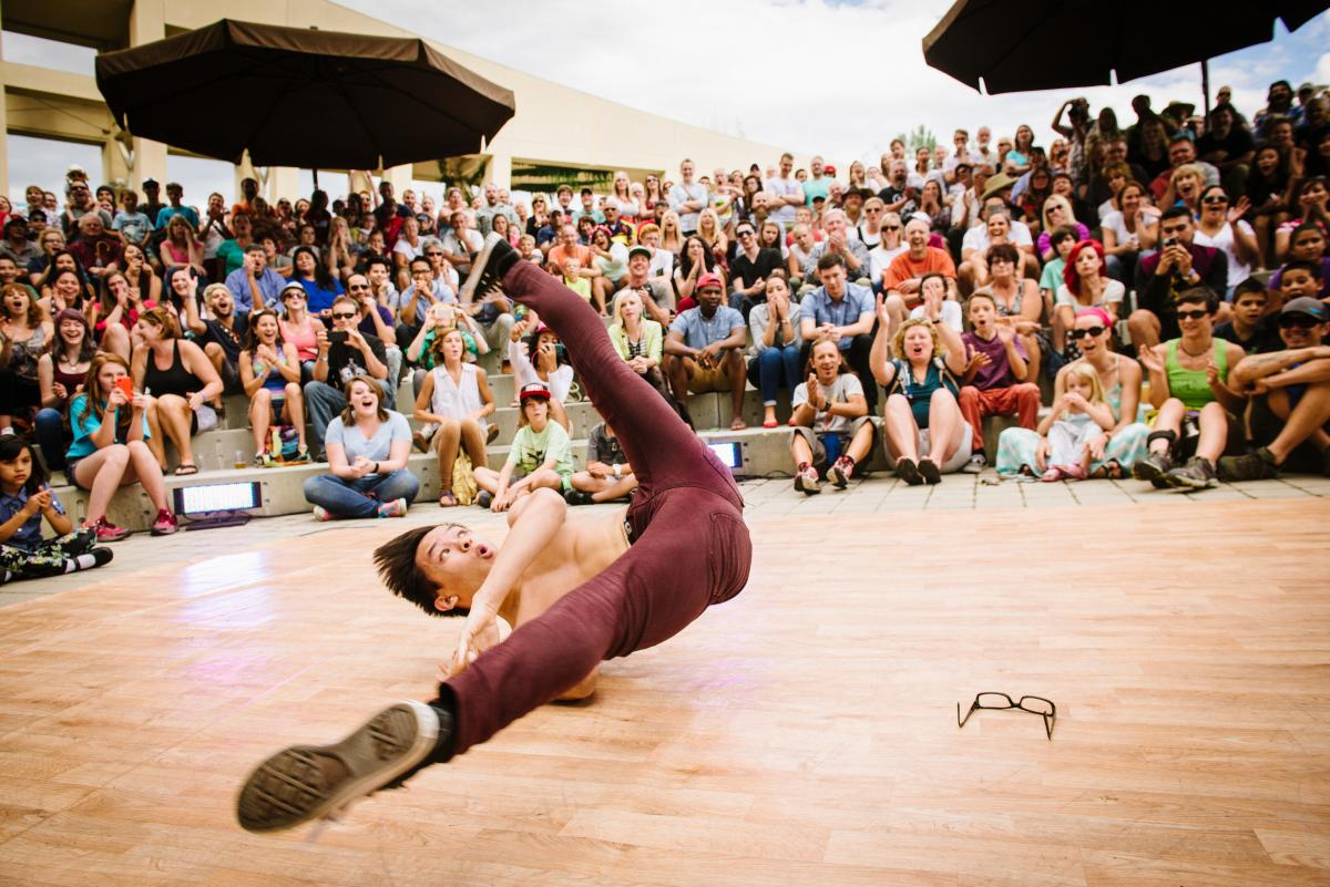 Break Dancer at Utah Arts Festival