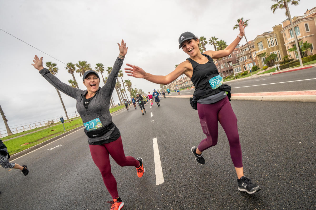 Surf City Marathon in Huntington Beach
