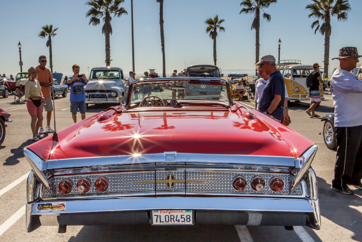 Veterans Day Car Show in Huntington Beach