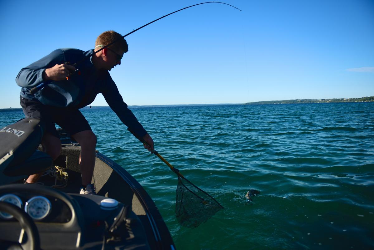Fishing in Traverse City