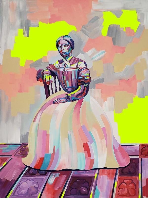 Blake Chamberlain - Harriet Tubman Portrait