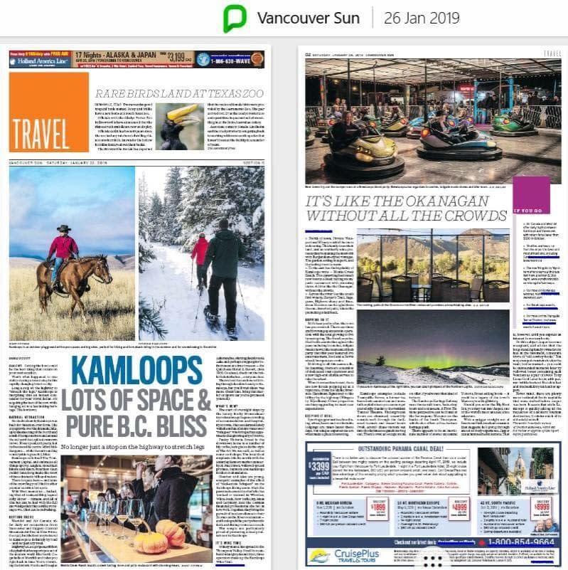 Vancouver Sun Article