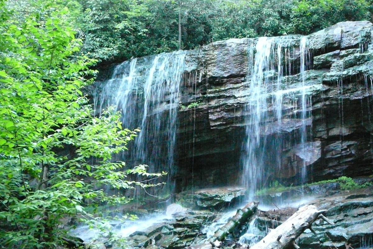 Glen Onoko Waterfalls at the Lehigh Gorge State Park