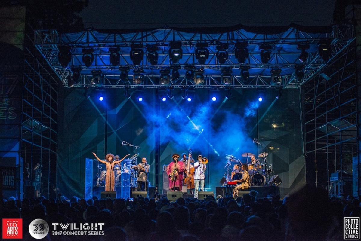 Kamasi Washington at Twilight 2017 Concert Series by Photo Collective Studios