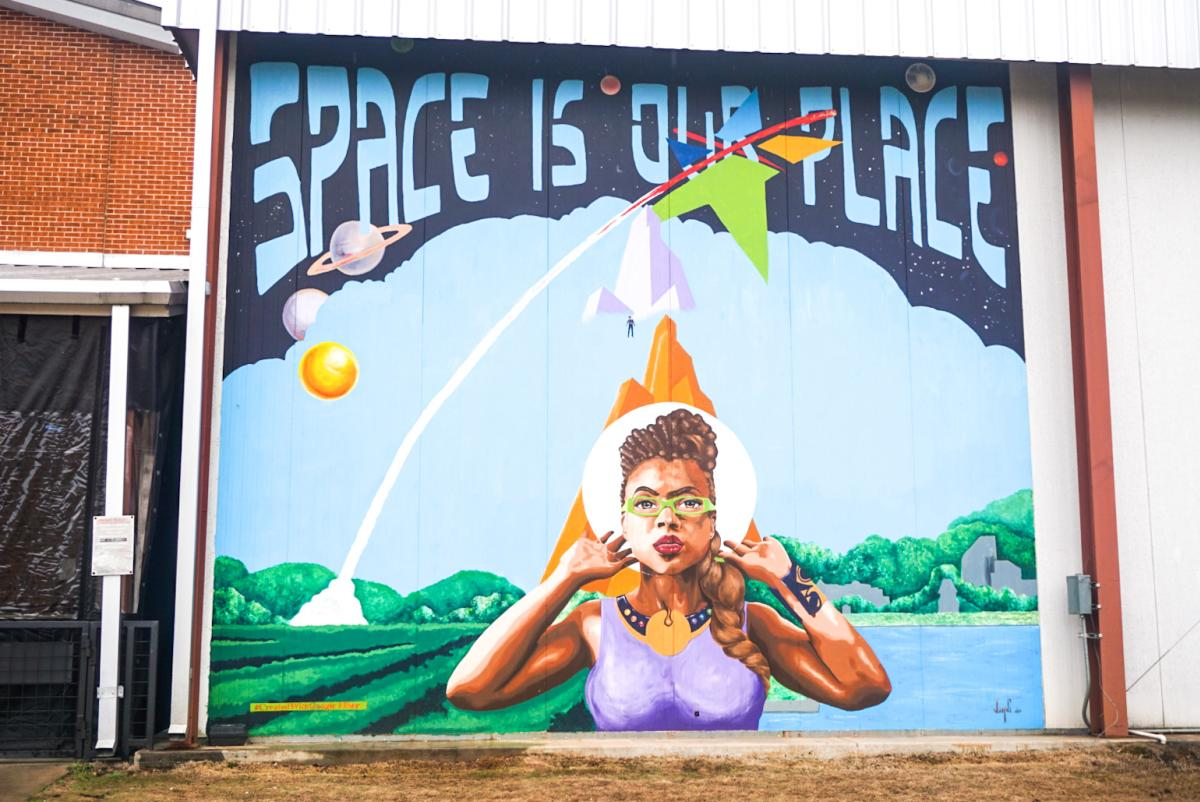 space is our place mural black history post