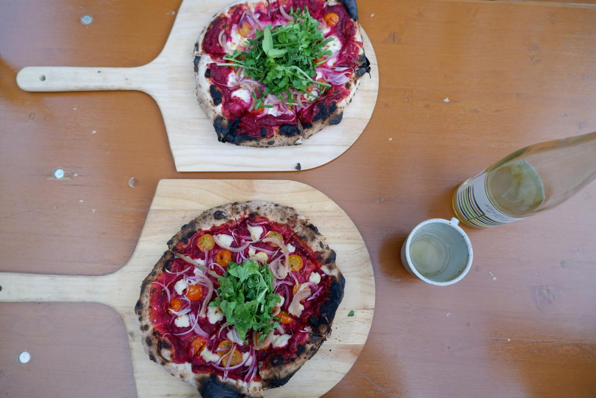 Tender Fire Kitchen Sourdough Pizza