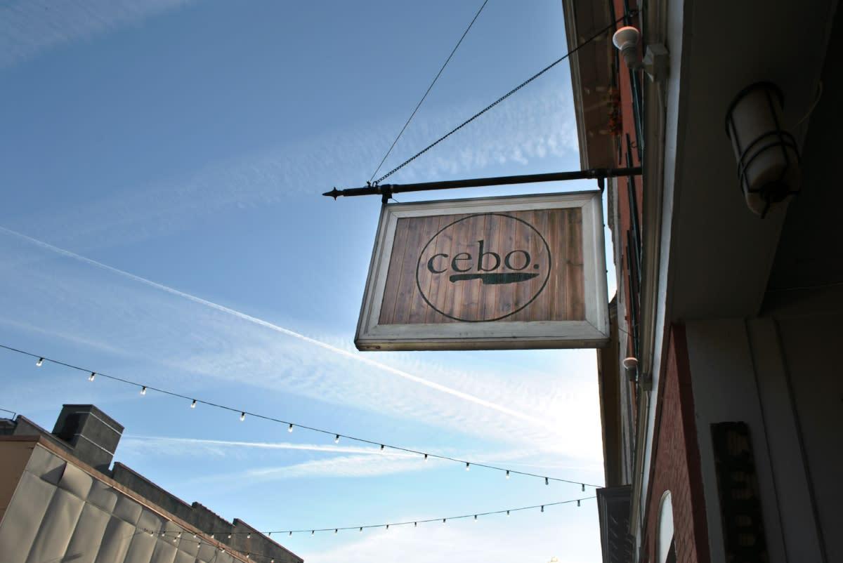 cebo-restaurant-geneva-exterior-sign