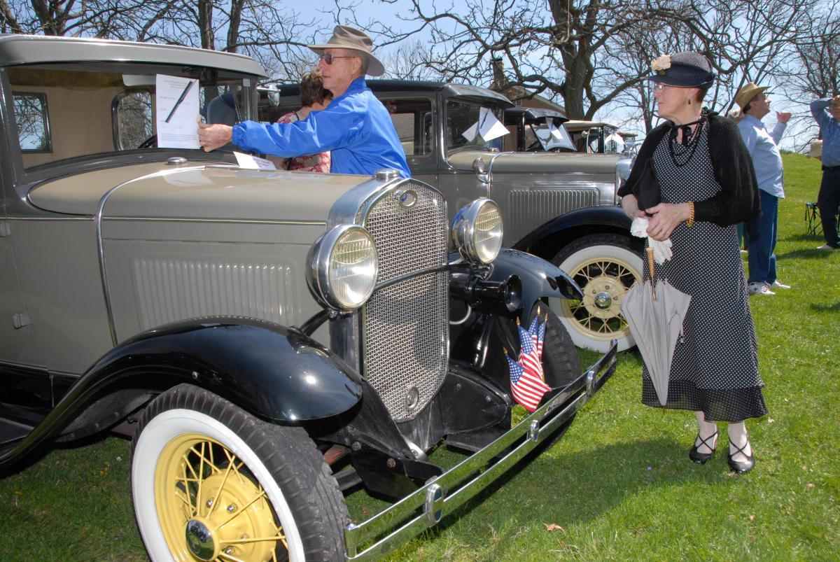 Classic cars and vintage games are all part of Pennypacker Mills' In the Good Old Summertime event