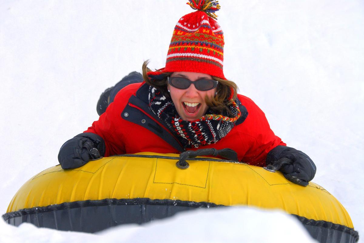Snow Tubing at Nemacolin