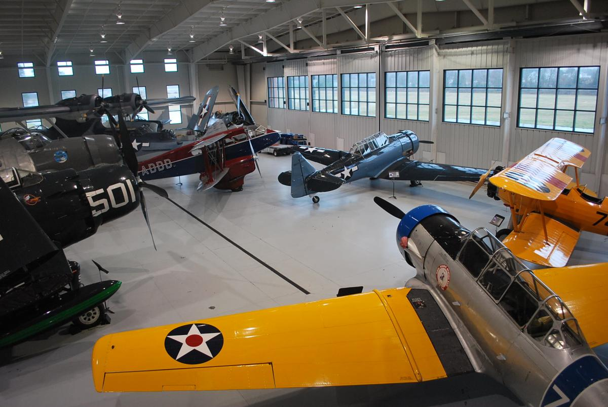 Virginia Military Aviation Museum Navy Hangar