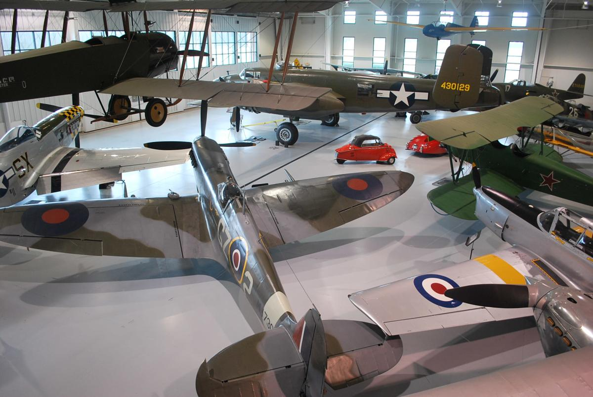 Virginia Military Aviation Museum Army Hangar