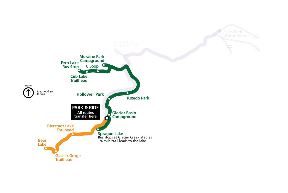 2020 RMNP Shuttle Map