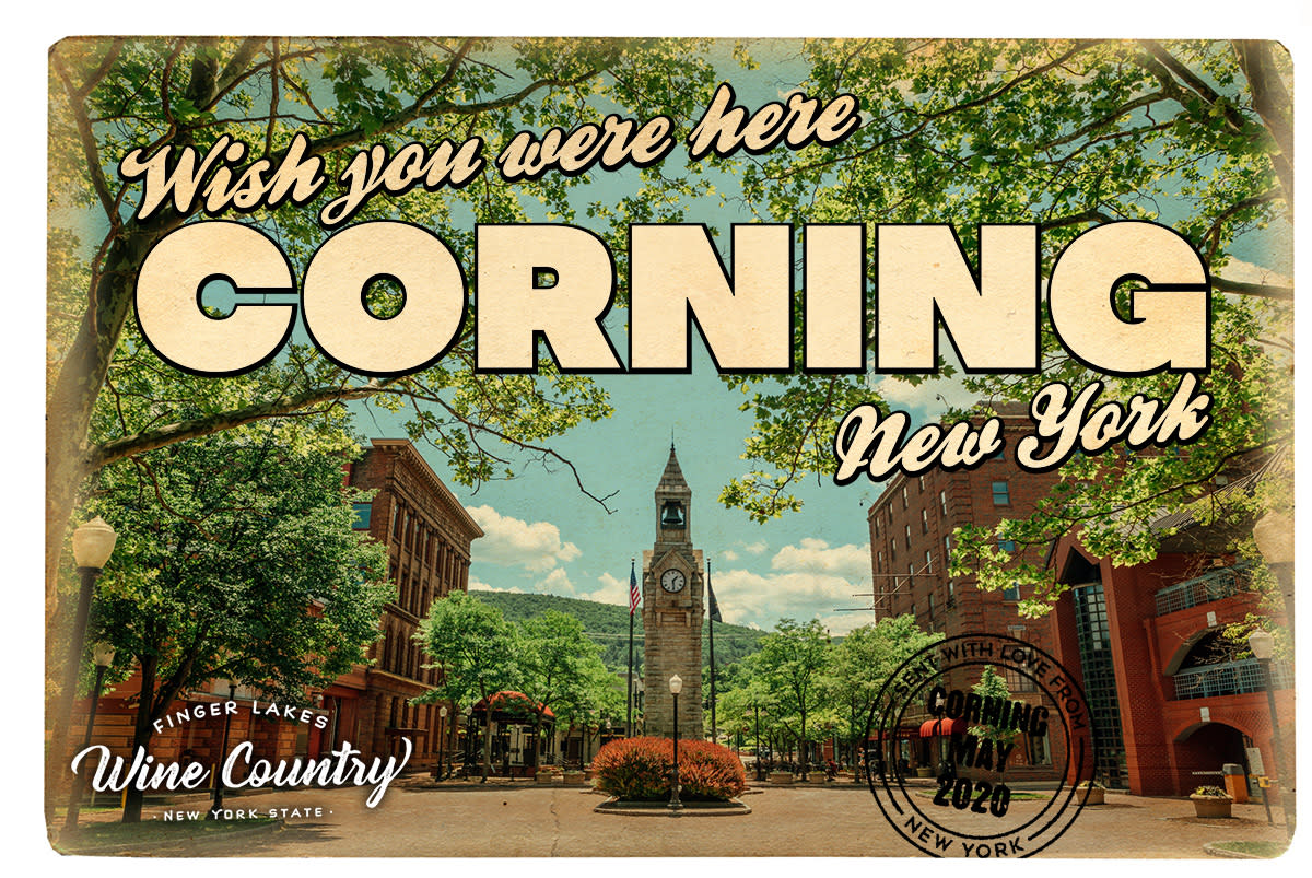 Corning Postcard - WYWH2020