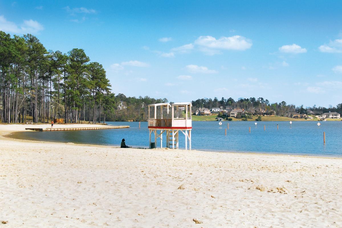 Beach View Lake Tobesofkee