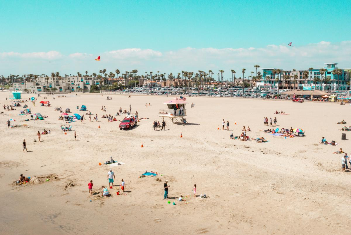 Beaches in Huntington Beach