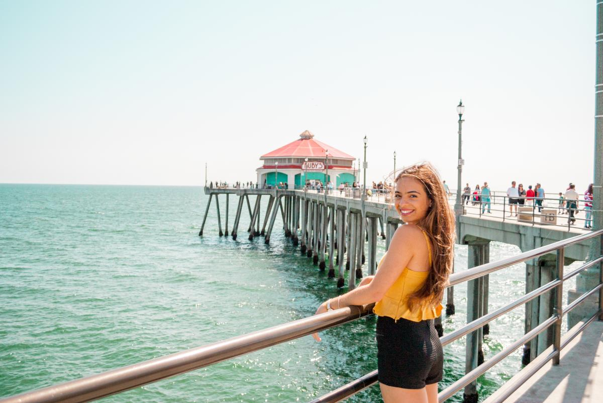 Huntington Beach Pier in Surf City USA