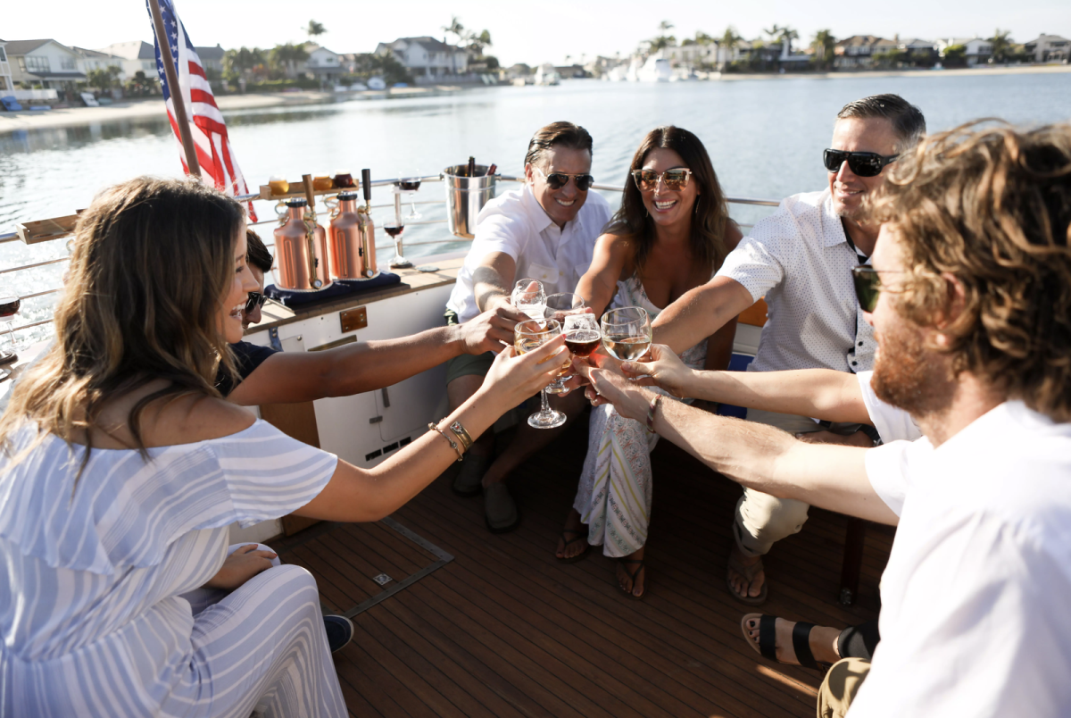 Huntington Beach private boat charters