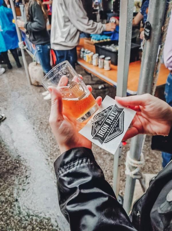 Iron Rail Brewery | Topeka beer scene - Rebekah Baughman