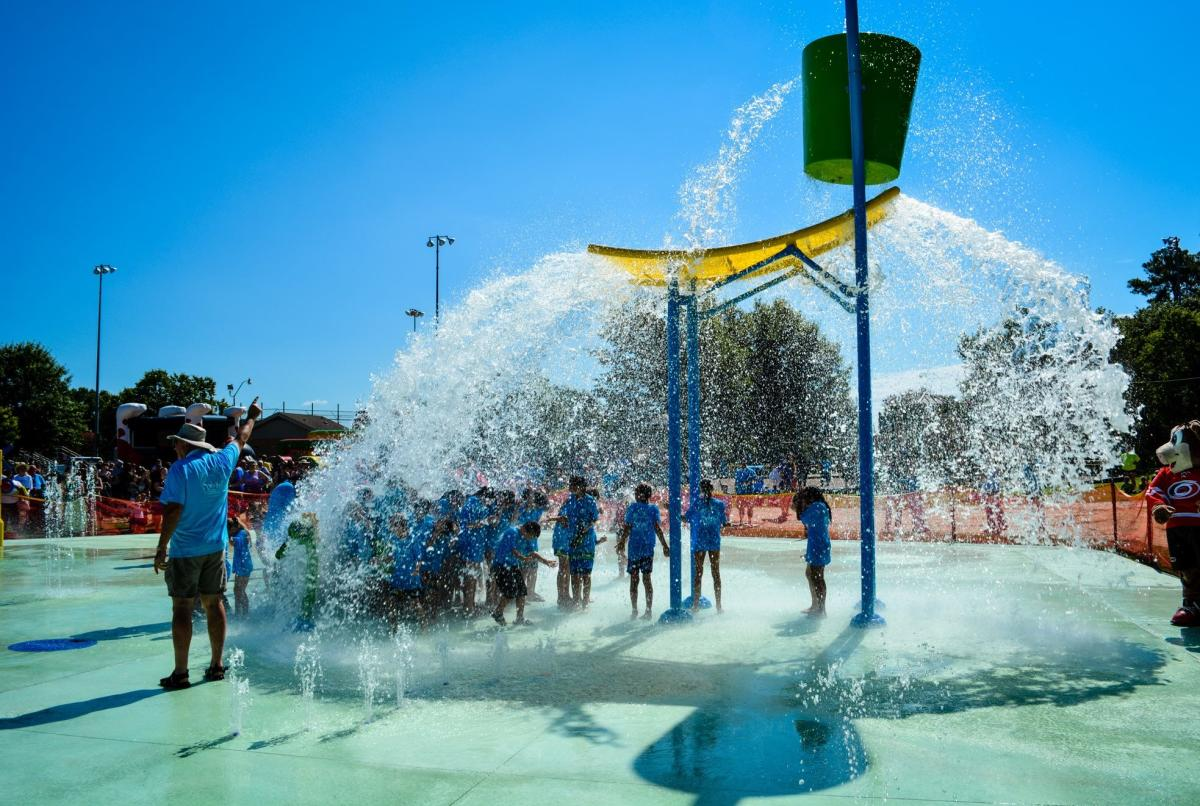 Fuquay-Varina Splash Pad