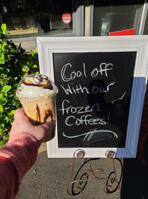 york coffee roastery frozen coffee