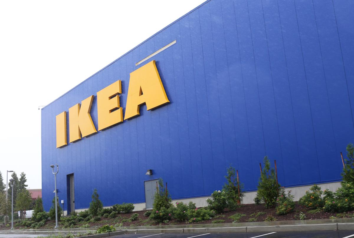 Exterior of Ikea