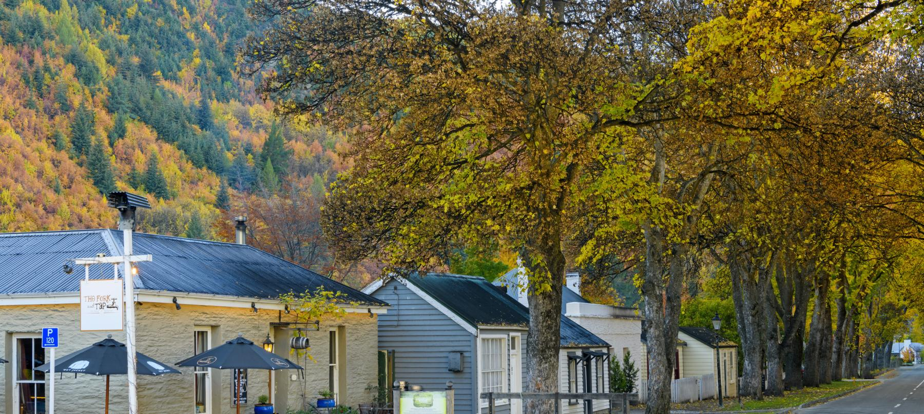 Arrowtown Miners' Cottages