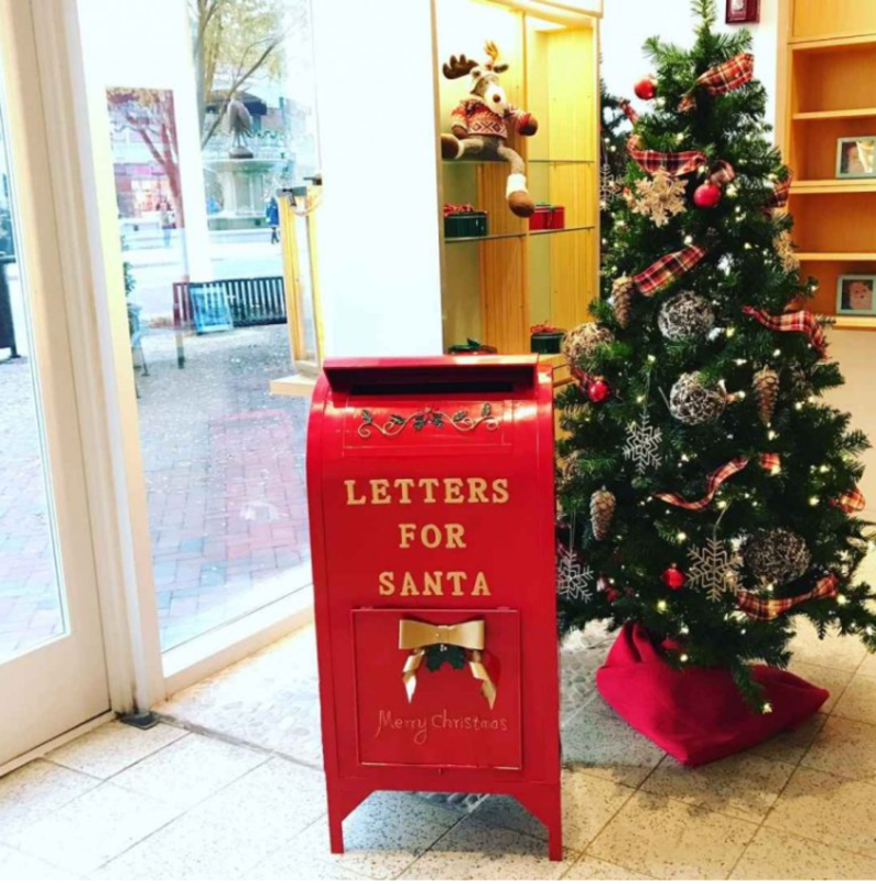 Letters For Santa Mailbox At Santa's Cottage In Virginia Beach