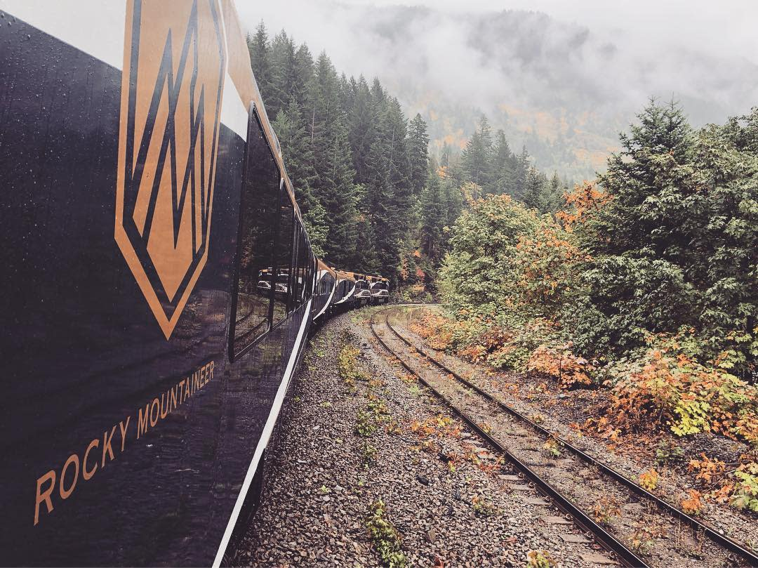 Rocky Mountain Train Image