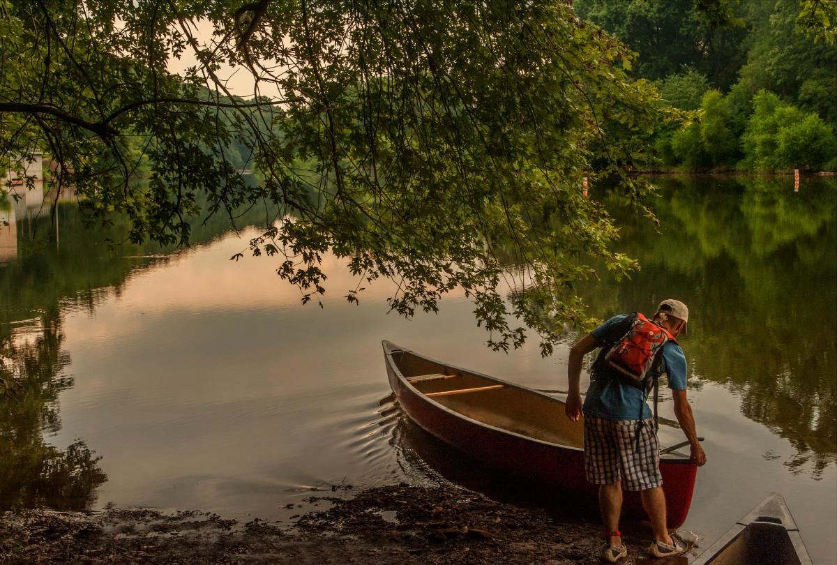 John James Audubon Canoe