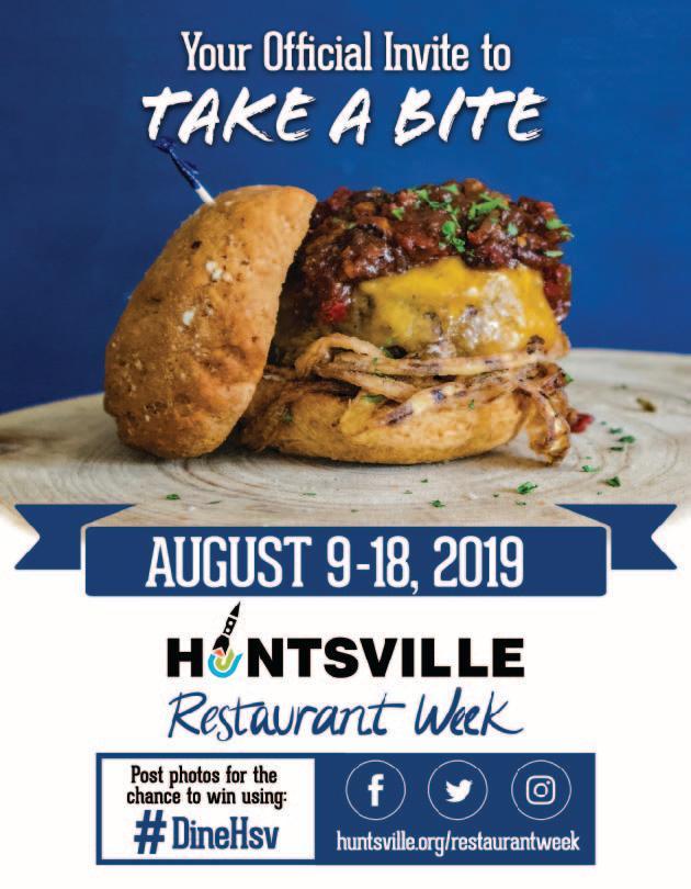 Huntsville Restaurant Poster 2019
