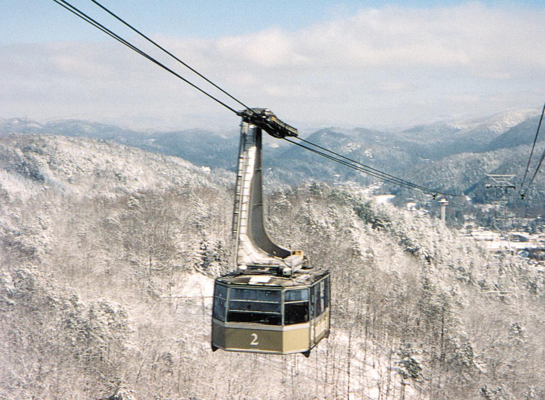 Tram Car Snow