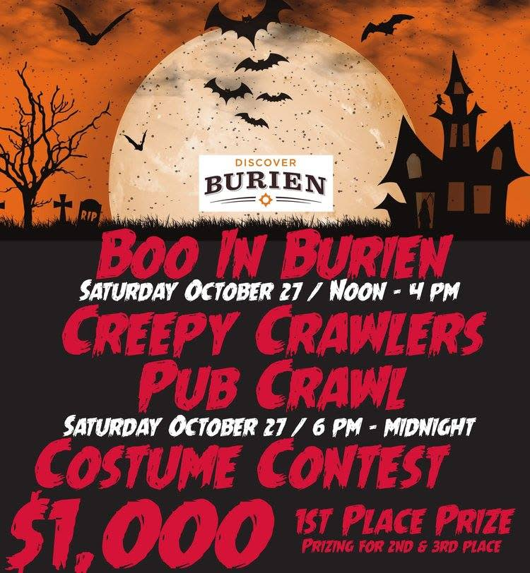 Boo in Burien Poster