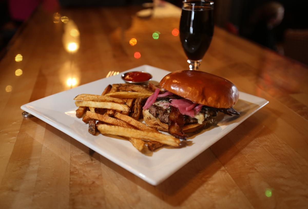 Forager Burger at Forager in Rochester, MN