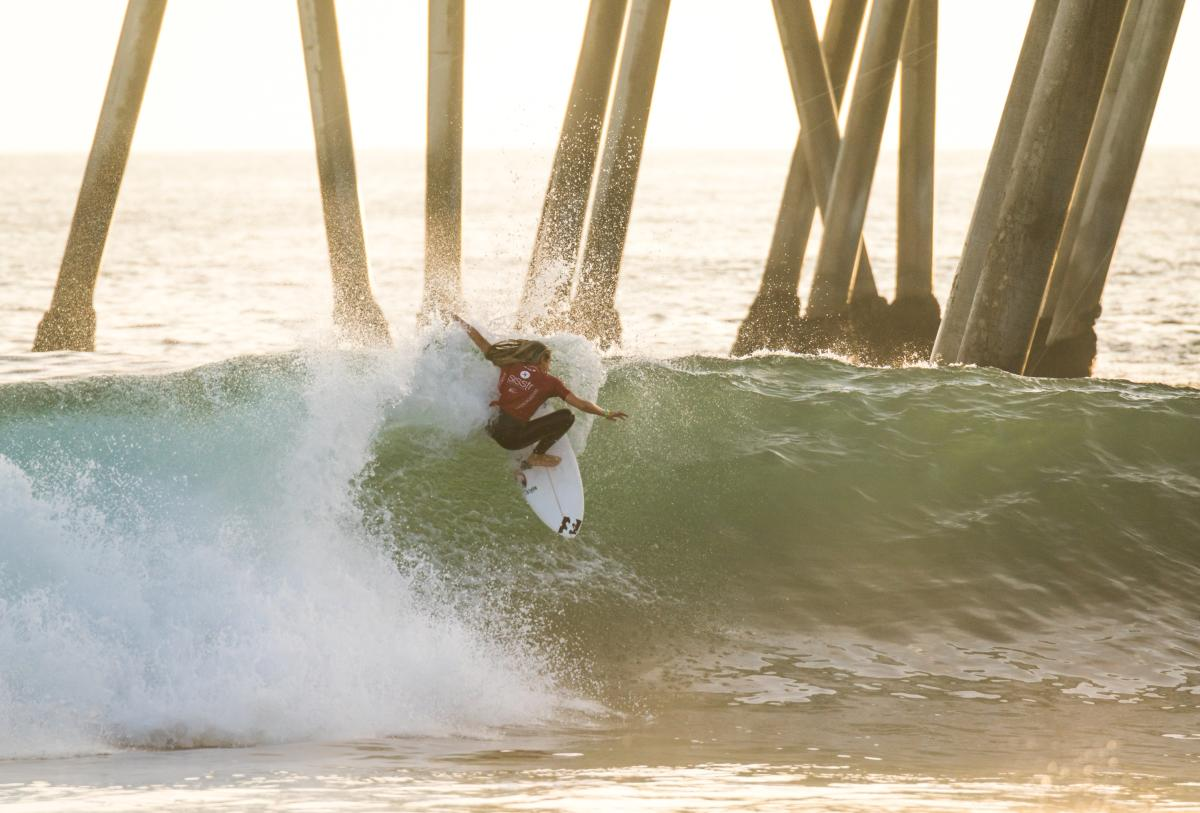 VISSLA ISA World Junior Surfing Championships in Huntington Beach
