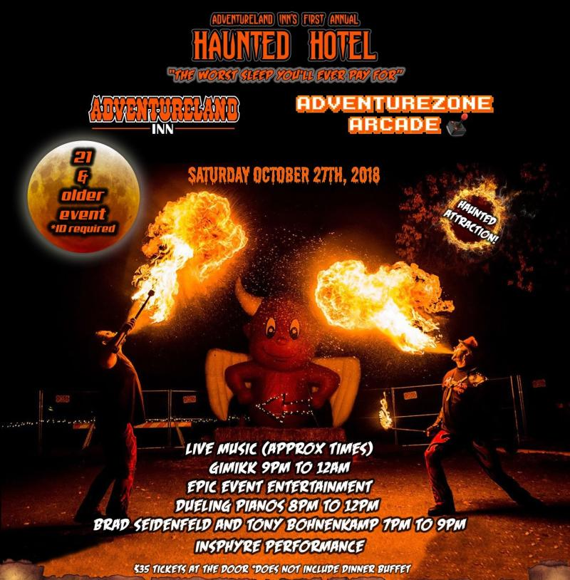 Adventureland Inn's Haunted Hotel
