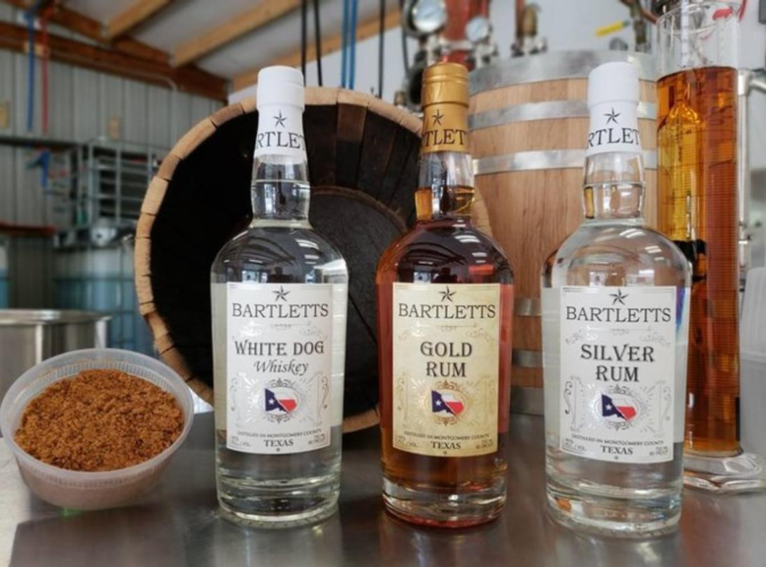 Bartlett's Distillery in Conroe