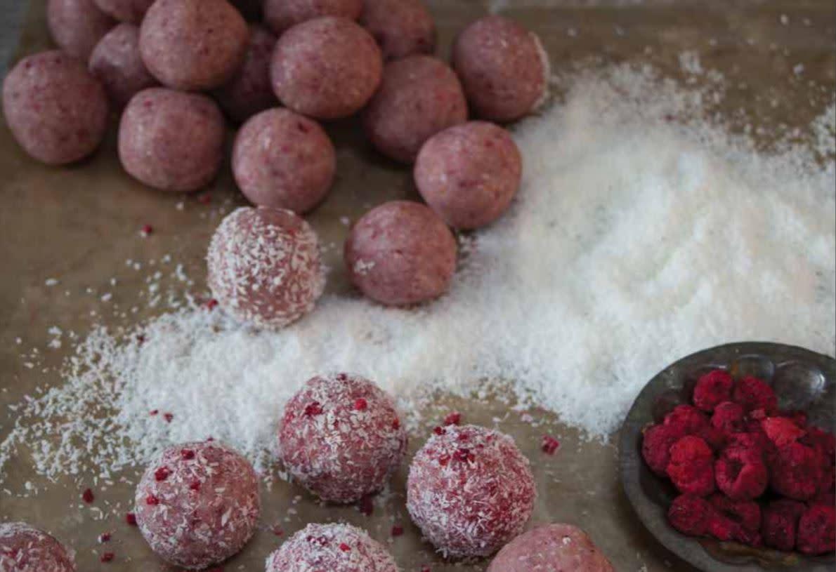Vudu Cafe & Larder Raspberry Truffles