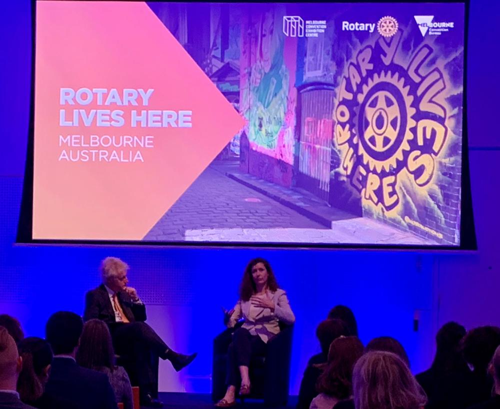 MCB and MCEC hosted a discussion panel with Rotary International