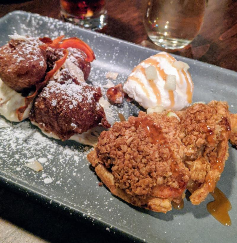 Dine Around Dessert at Train Station Pub